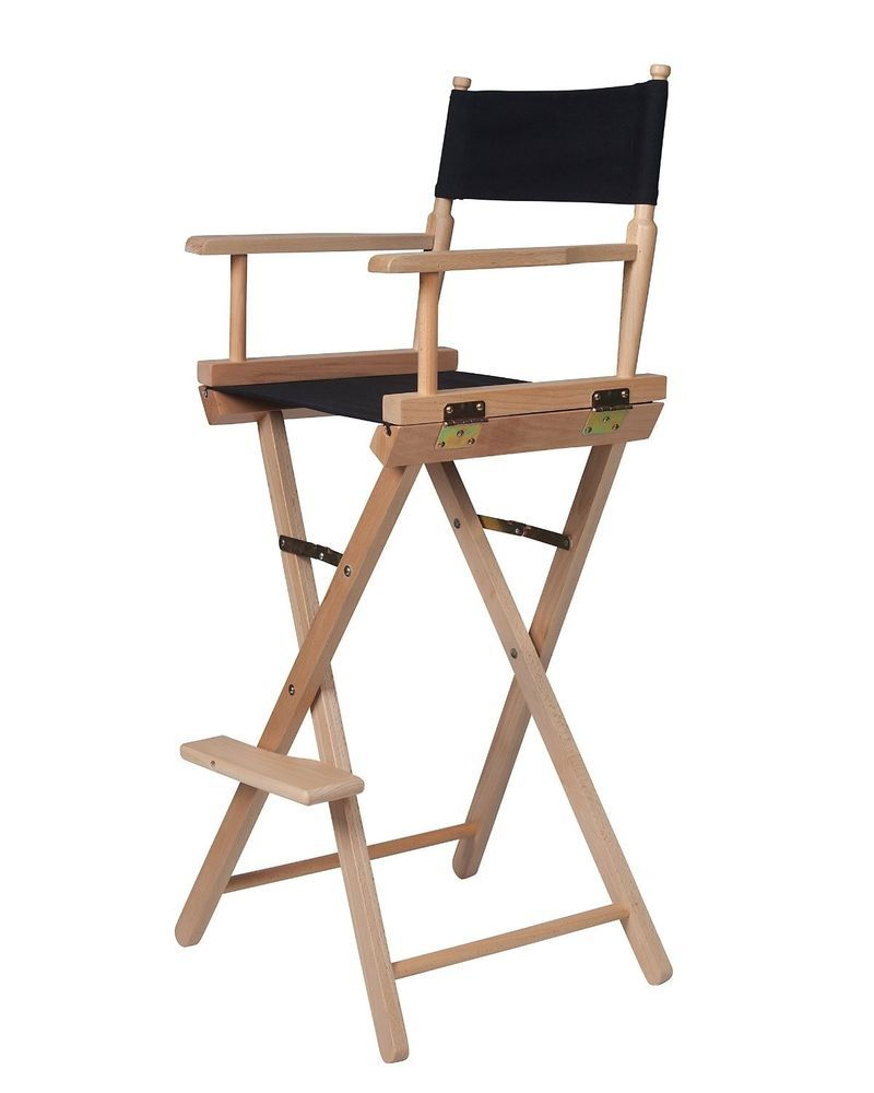 Tall Folding Chairs Directors Wooden Captains Chair Outsunny Just For The Heck Of It