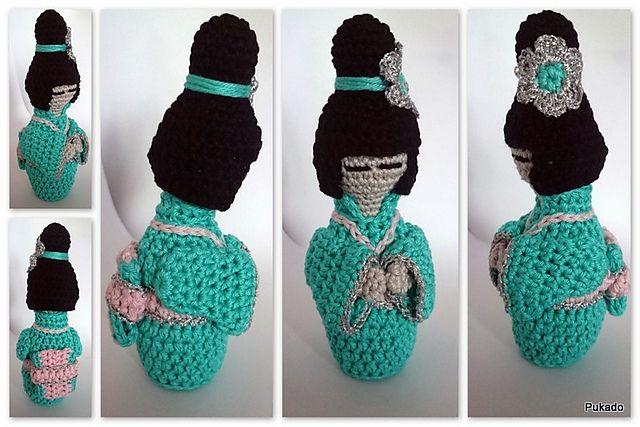 Ravelry: Kokeshi Doll pattern by Patricia Stuart | ♥ Amigurumi ...