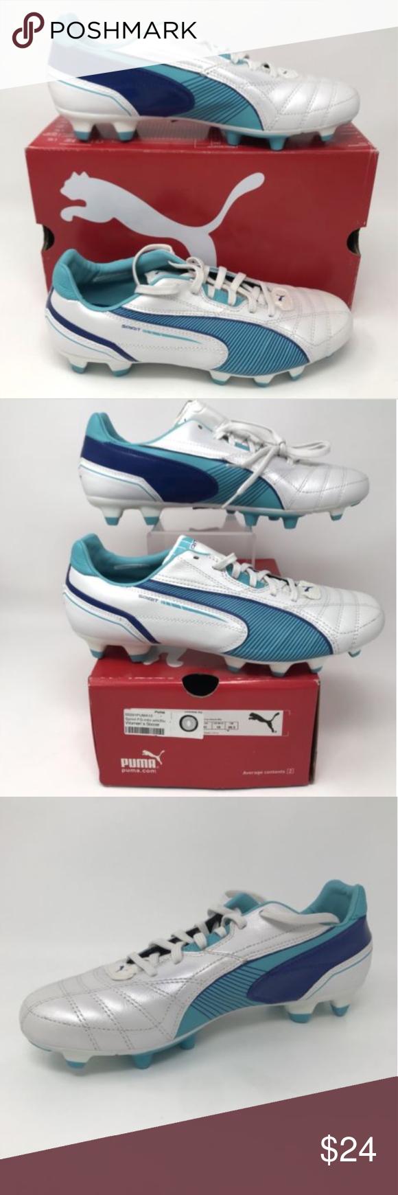 timeless design 495a3 28758 Size 10 · Puma 2009 Soccer Cleats Sprint FG Metallic Blue Puma Women s  Soccer Sprint FG Cleats 2009 US