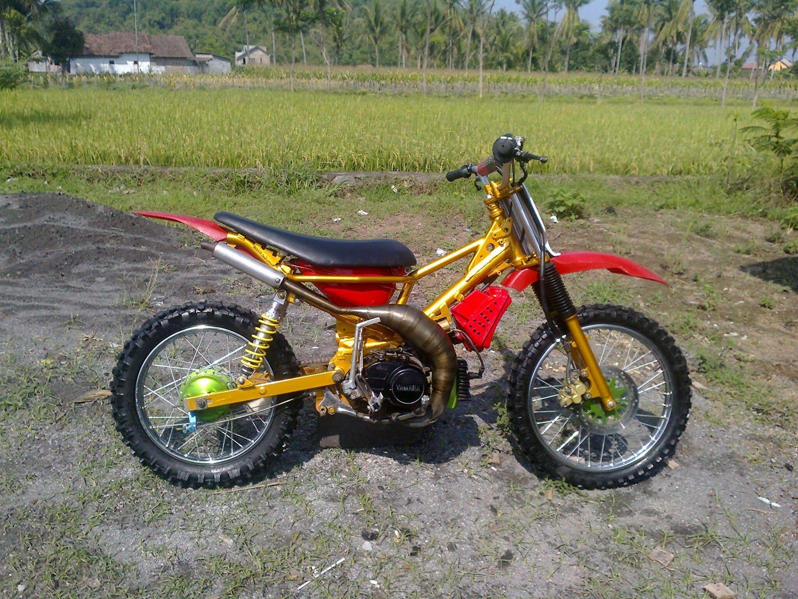Modifikasi Motor Fiz R Menjadi Trail Motor Mobil Sepeda Retro Motor