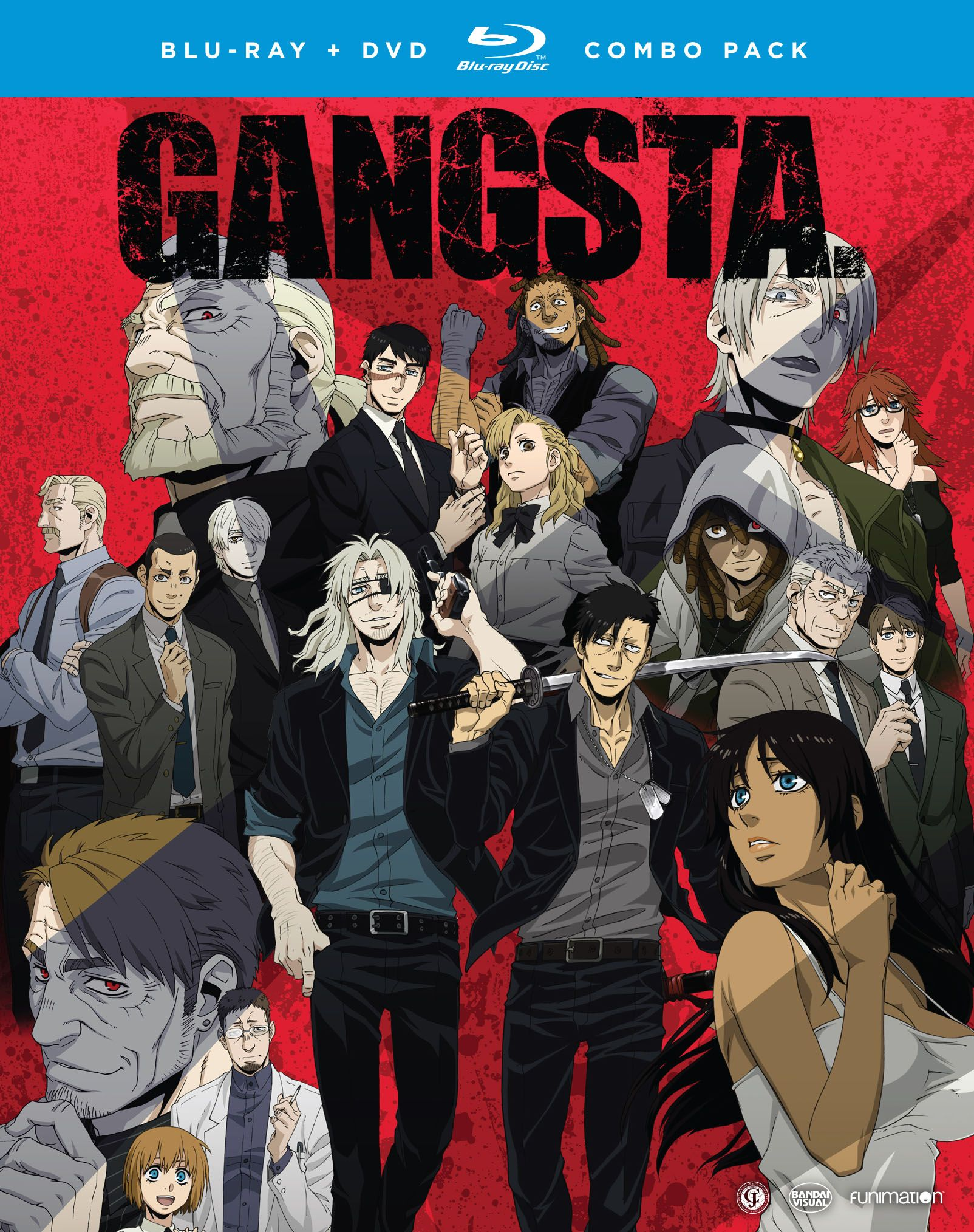 GANGSTA Complete Series Bluray/DVD (With images