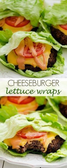 Cheeseburger Lettuce Wraps - Life In The Lofthouse