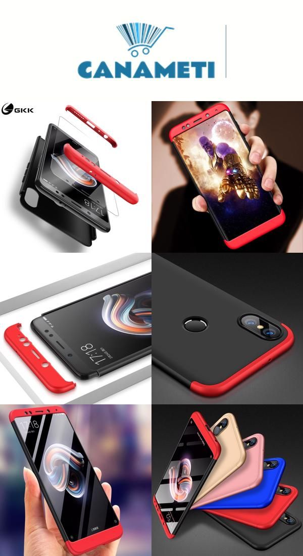 76b4bd32387 Case for Xiaomi Redmi Note 5 Global 5 Plus Case 360 Full Protection for  Redmi 4X