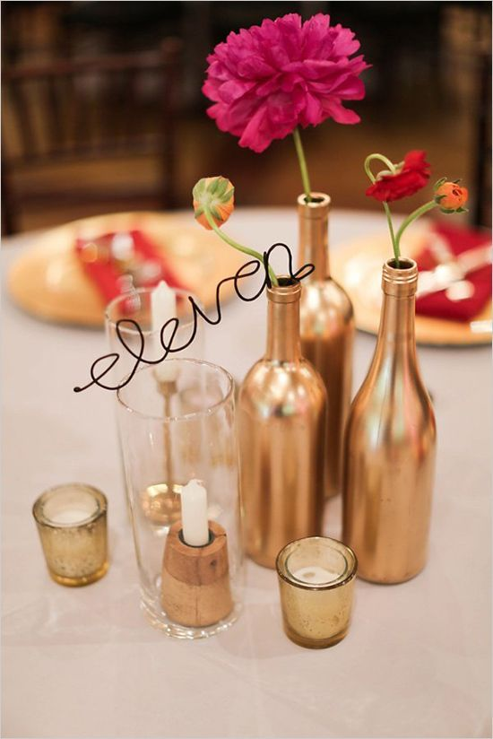 Wire table numbers irina jeremy pinterest table numbers wire table numbers greentooth Gallery