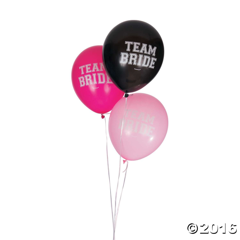 Team Bride Latex Balloons | Bachelorette Party? | Pinterest