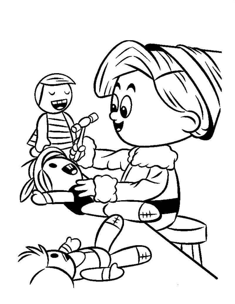 Elf at toy shop | Christmas Coloring Pages | Pinterest | Toys shop ...