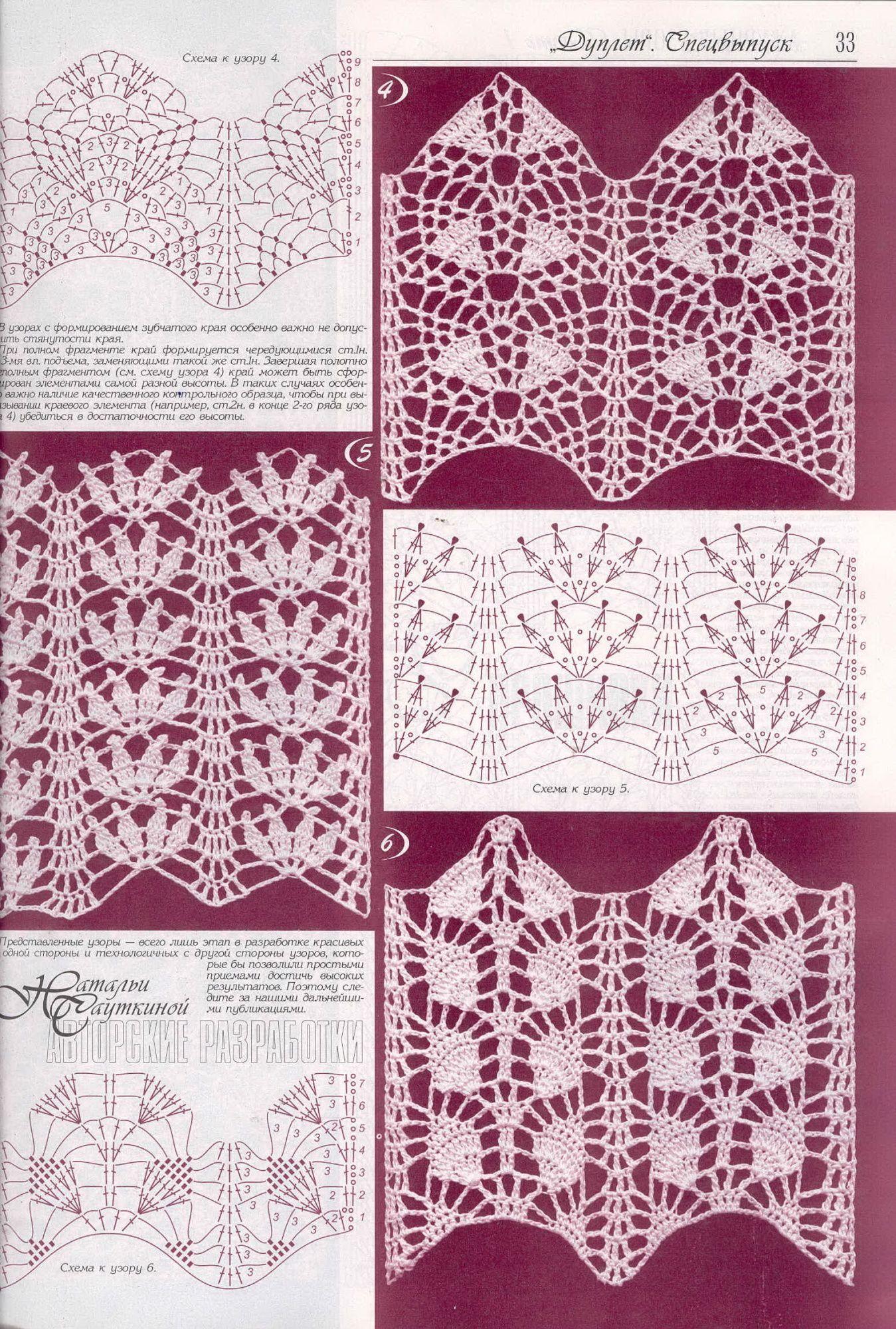 Moderno Picot Patrón De Crochet Ribete Embellecimiento - Manta de ...