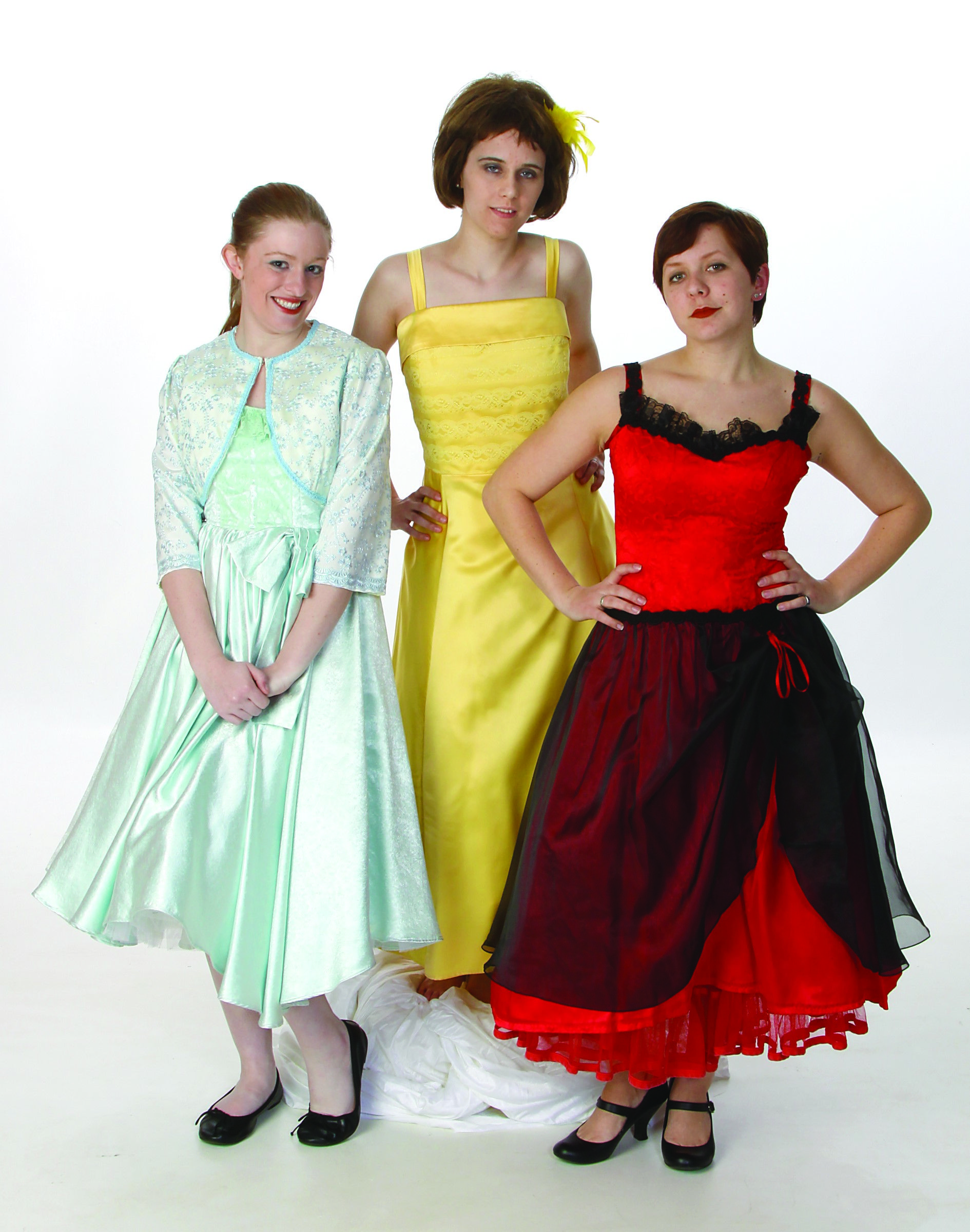 Sandy, Rizzo, Frenchie Costumes & 50\'s Prom Dresses - Grease Rental ...