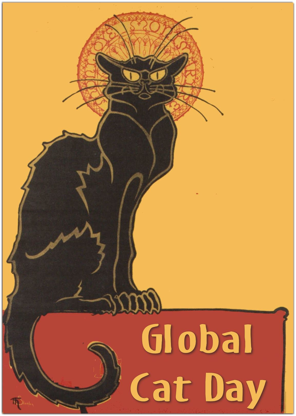 October 16 is Global Cat Day Cat day, Cats