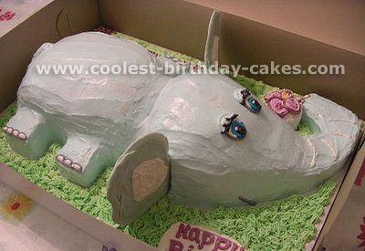 Coolest Elephant Birthday Cake Pictures Birthday cakes Birthdays