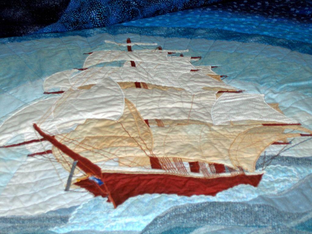 sailing-ship.jpg 1,024×768 pixels | Quilting | Pinterest : sailing quilt - Adamdwight.com