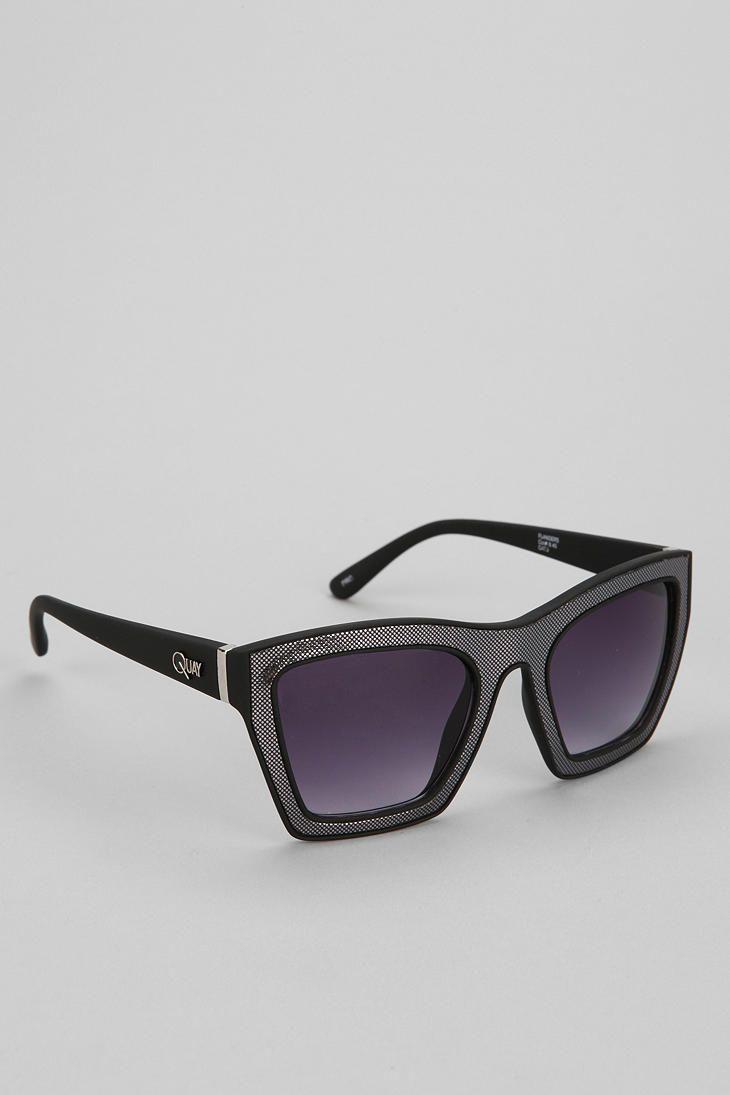 Quay Flanders Square Sunglasses #urbanoutfitters