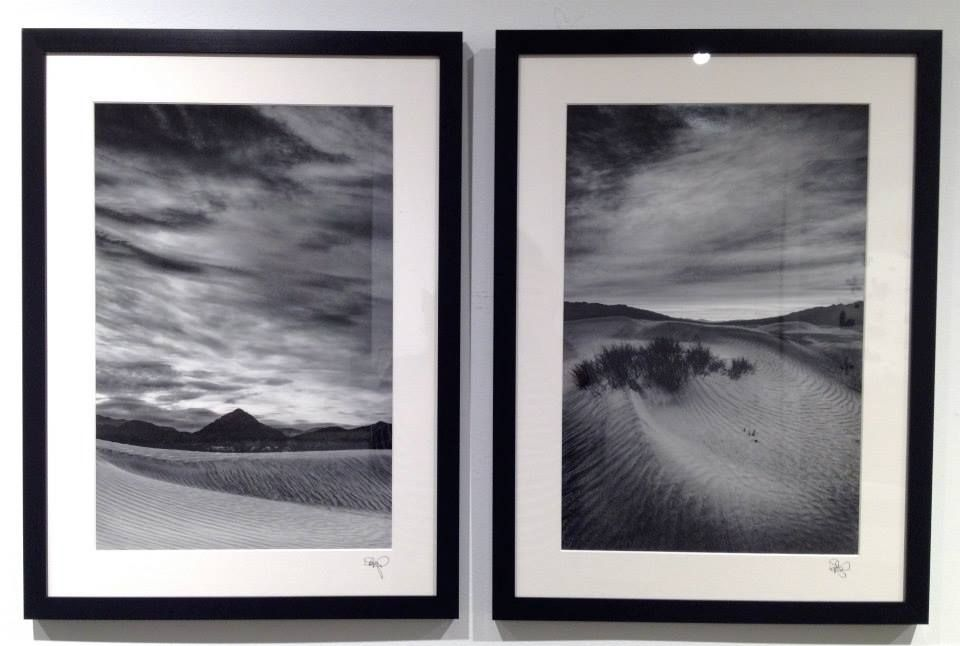 "David Mangels ""Stillness no.1"" Digital Silver Gelatin Photograph, 2014, 16""x 22"" (Framed) ""Stillness no.2"" Digital Silver Gelatin Photograph, 2014, 16""x 22"" (Framed) #art #landscape"