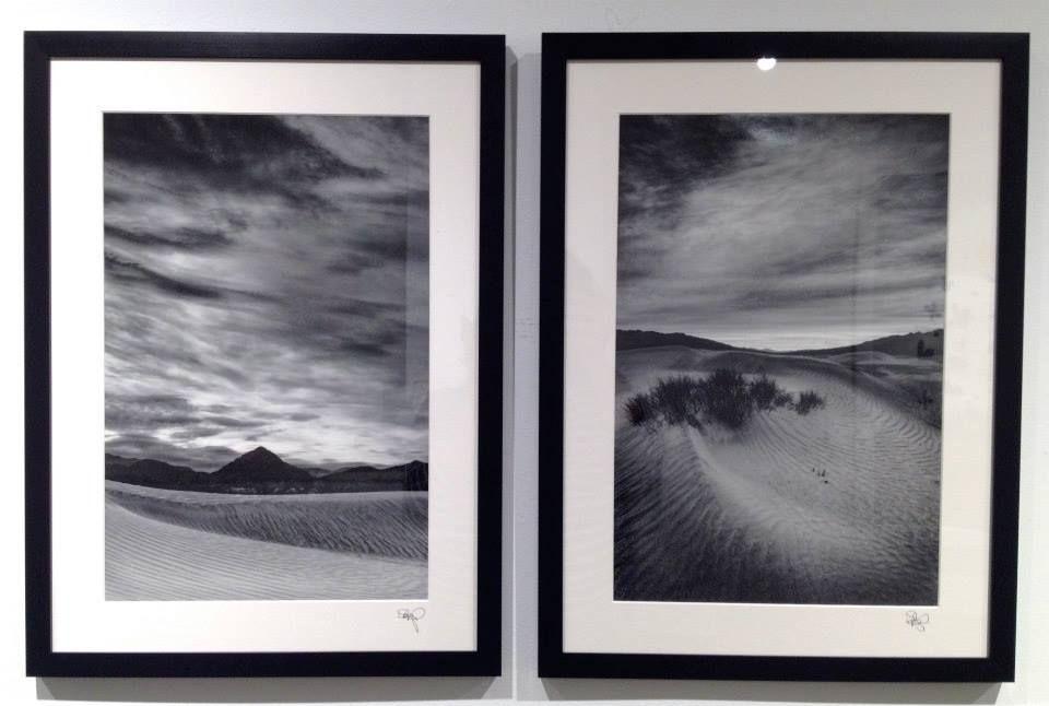 """David Mangels """"Stillness no.1"""" Digital Silver Gelatin Photograph, 2014, 16""""x 22"""" (Framed) """"Stillness no.2"""" Digital Silver Gelatin Photograph, 2014, 16""""x 22"""" (Framed) #art #landscape"""