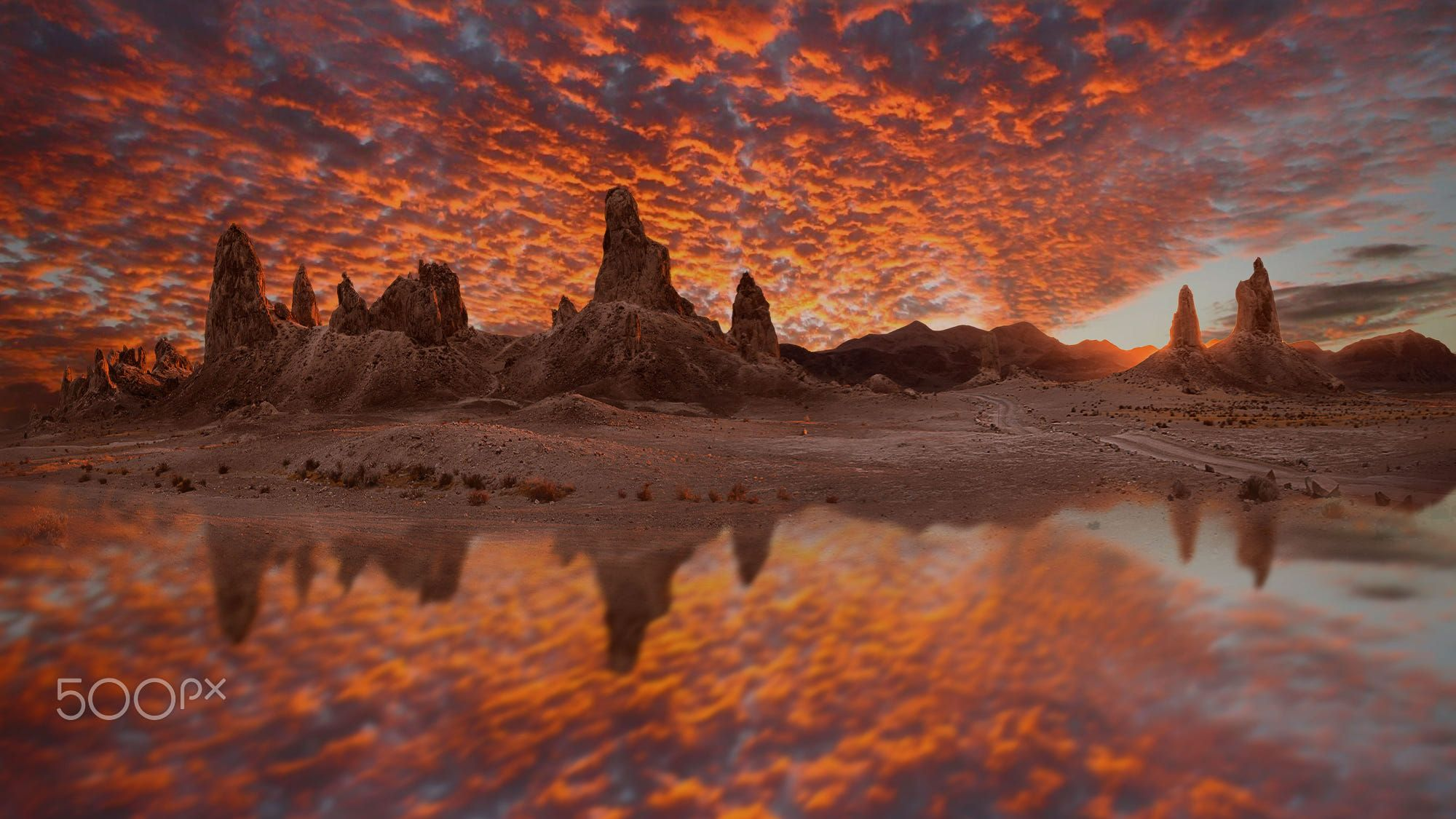 Trona Pinnacles National Monument