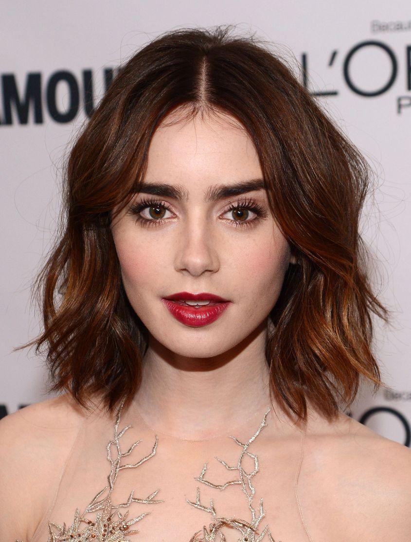 Steal lilly collinsu best beauty looks hair pinterest brunette