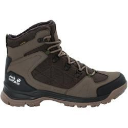 Photo of Jack Wolfskin Waterproof Winter Shoes Men Cold Terrain Texapore Mid Men 47.5 Brown Jack Wolfski