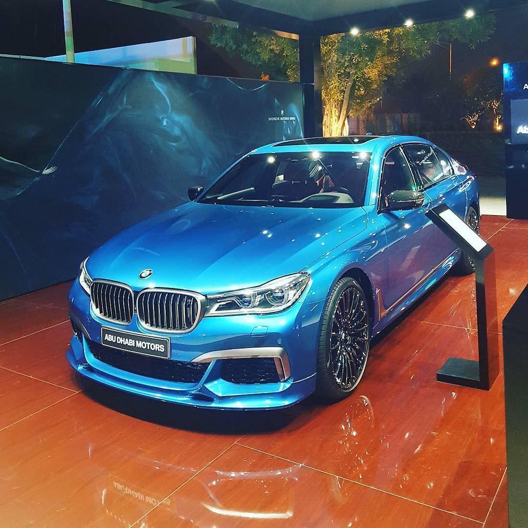 bmw m760li m sport long beach blue v12 6 6 li bi turbo 610 hp torque rh pinterest com