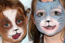 Basic Principles on Animal Face Painting