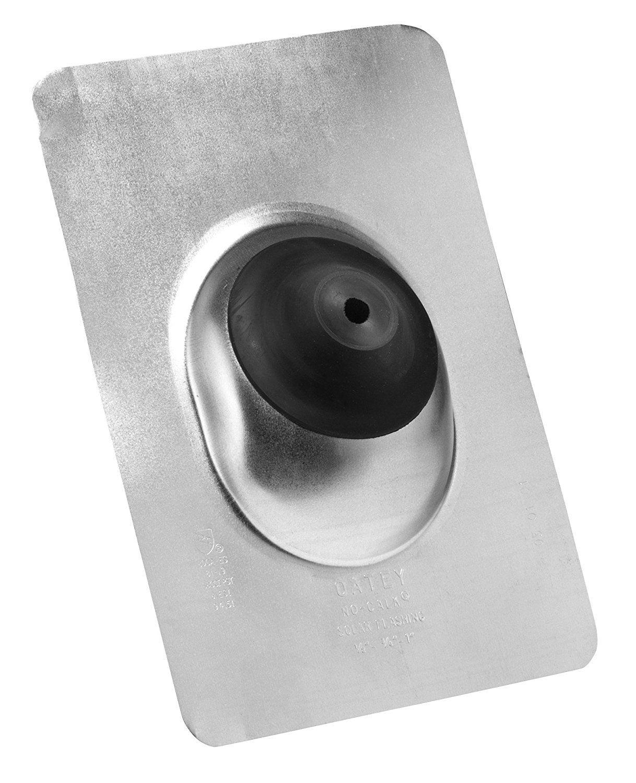 Oatey 12403 Copper 11 x 14.5 Base 1.5-3 Pipe Diameter Calk Roof Flashing