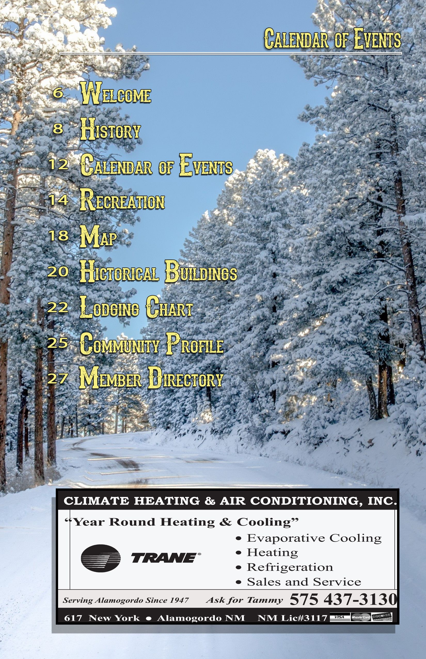 Image By Rhonda Napoleon Event Calendar Cloudcroft Heating And