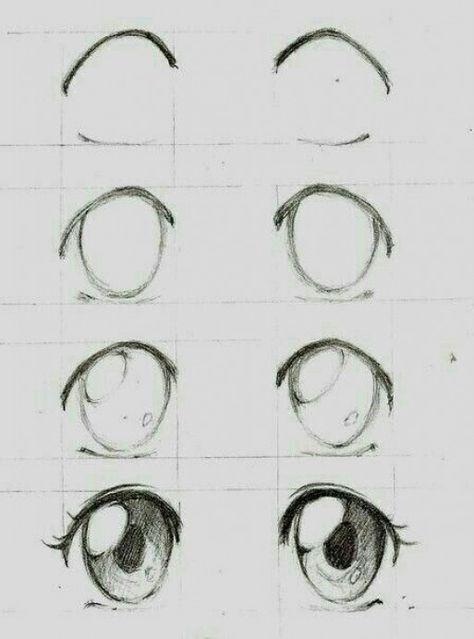 Manga eyes