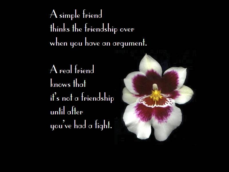 Simple Quotations On Friendship