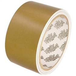 Tape Planet 3 Mil 2 X 10 Yard Roll Gold Outdoor Vinyl Tape Small Letters Adhesive Vinyl