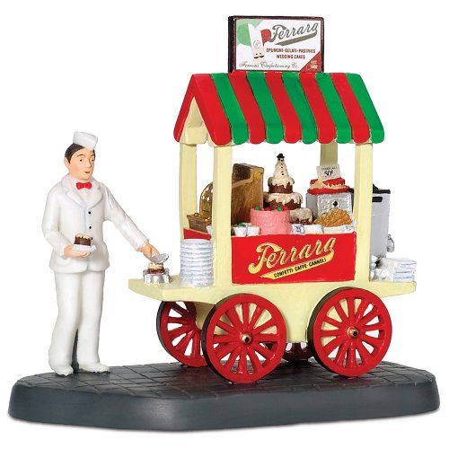 Department 56 Christmas In The City Ferraras Bakery Cart *** Click image to review more details.