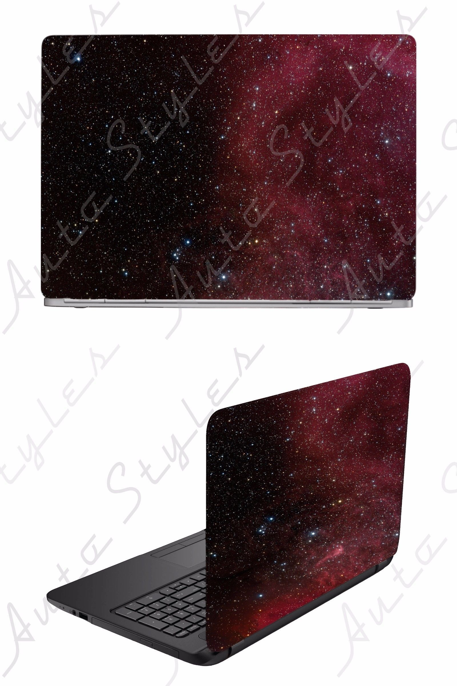 Case Mods Stickers and Decals 175677: Red Black Galaxy Sky Stars Space Nova Laptop Skin Vinyl Decal Sticker … | Vinyl decals. Vinyl decal ...