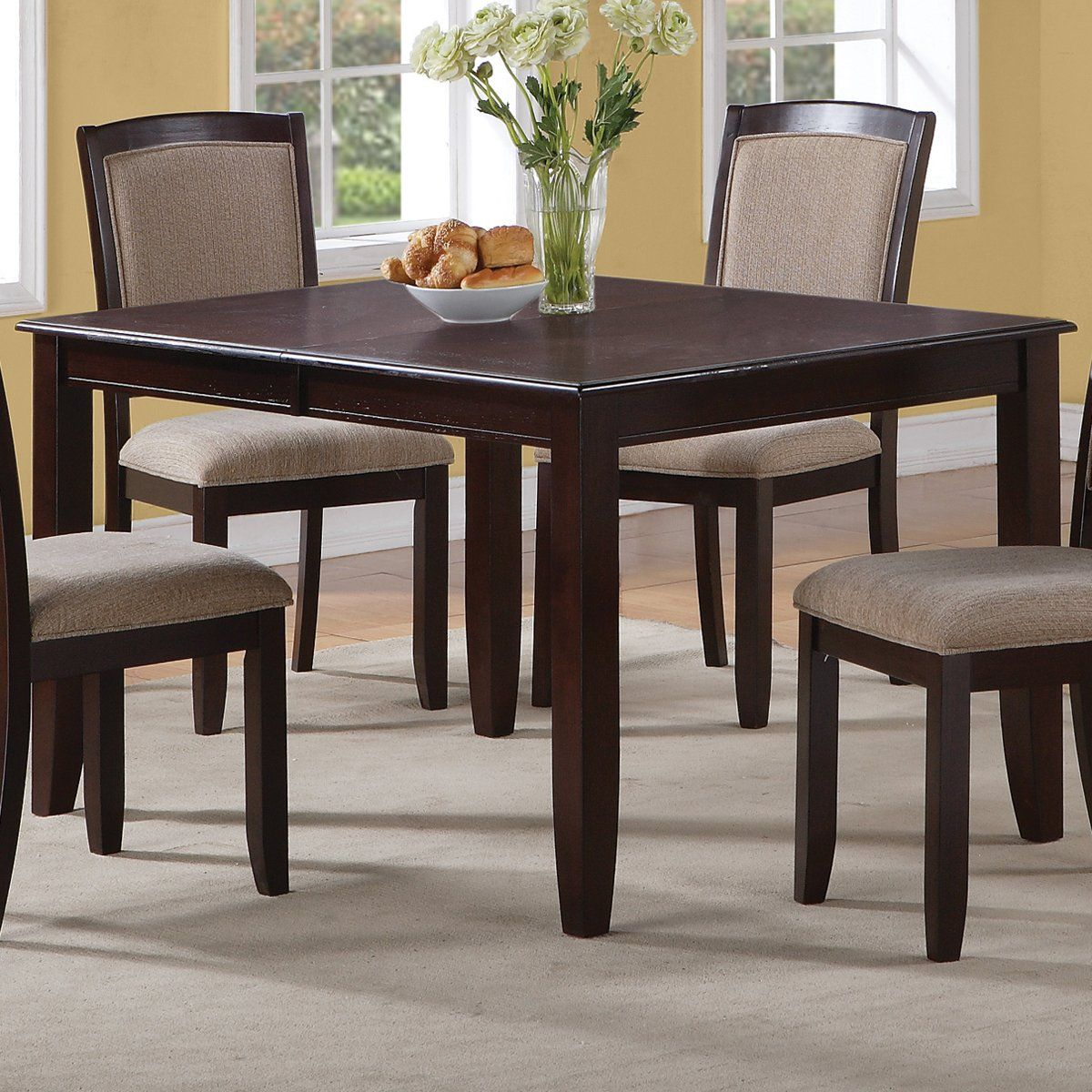 Coaster Fine Furniture 102756 Dining Table | Fabric dining room, Rectangular dining table ...