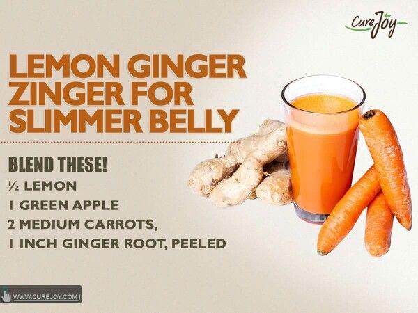 Lemon ginger zinger weight loss
