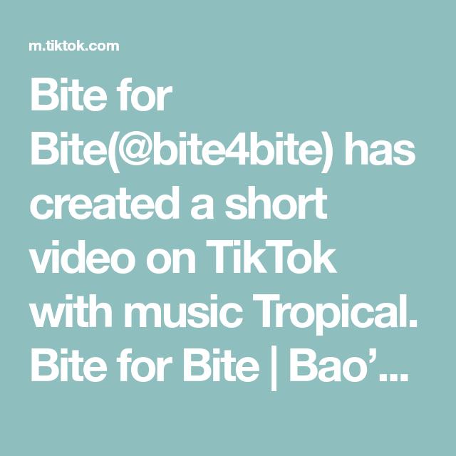Bite for Bite(@bite4bite) has created a short video on TikTok with music Tropical. Bite for Bite | Bao's Castle Orlando, FL. Let's us know where we should bite next! #OrlandoEats #idrive #SoBo #SouthFlorida #MiamiFood