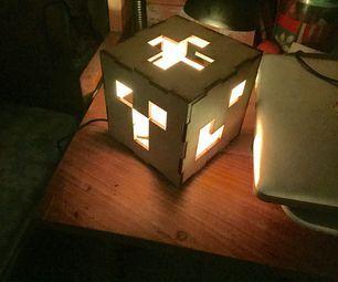 Lampara Minecraft (Adafruit Gemma)
