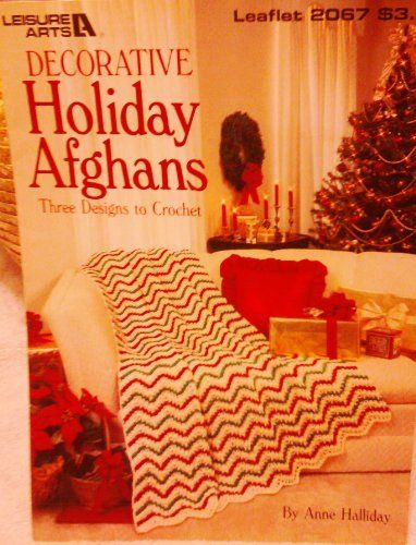 Holiday Crochet Pattern Christmas Afghan Patterns Crocheted