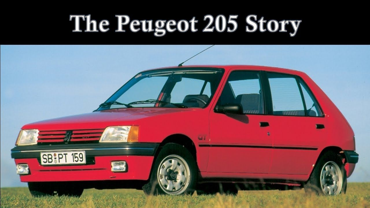 The Peugeot 205 Story