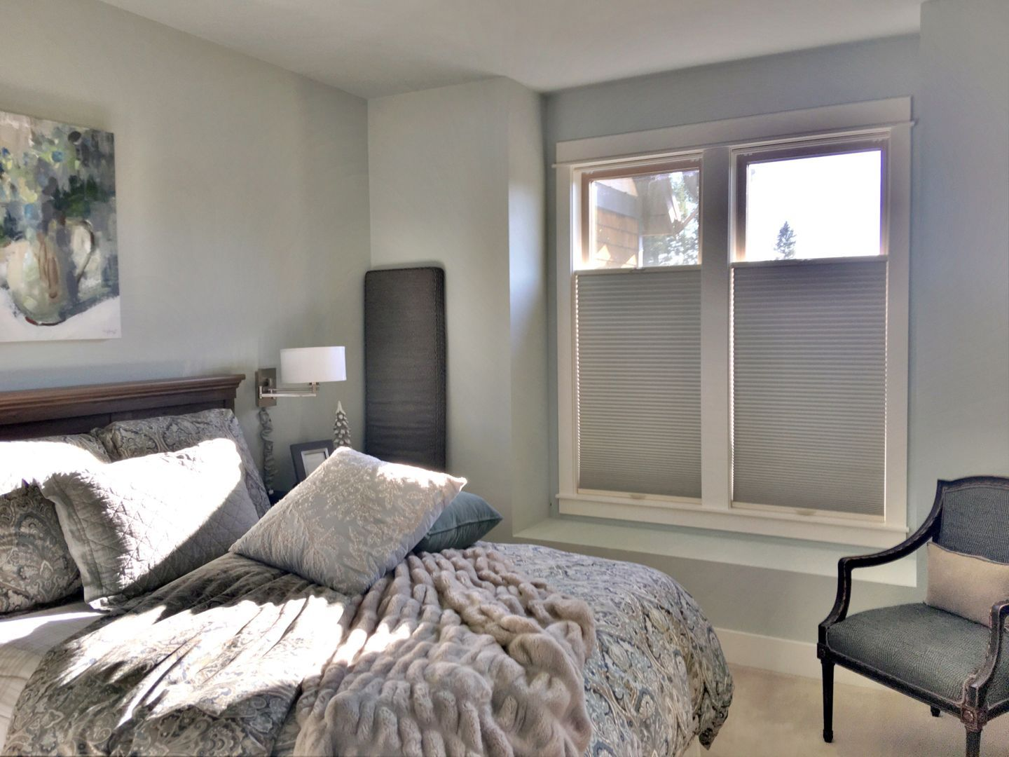 TopDown BottomUp Blackout Cellular Shades In A