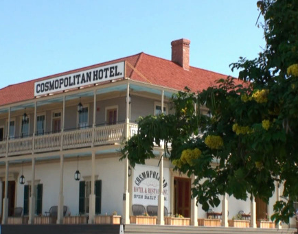 The Cosmopolitan Hotel In Old Town San Go Is A Most Haunted Inn