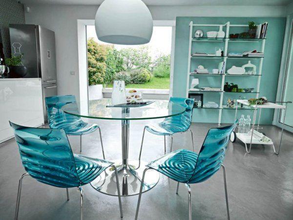 Magnifique Chaise Salle A Manger Plastique Decoration Francaise