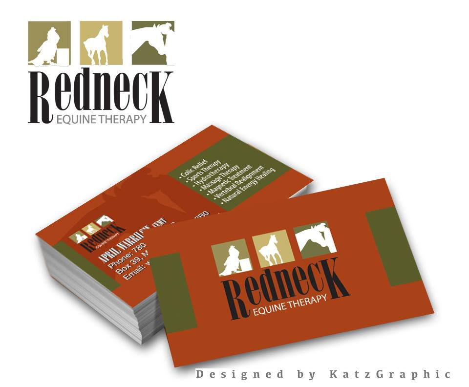 Redneck Equine Therapy – logo and Business cards | Equine Logo ...
