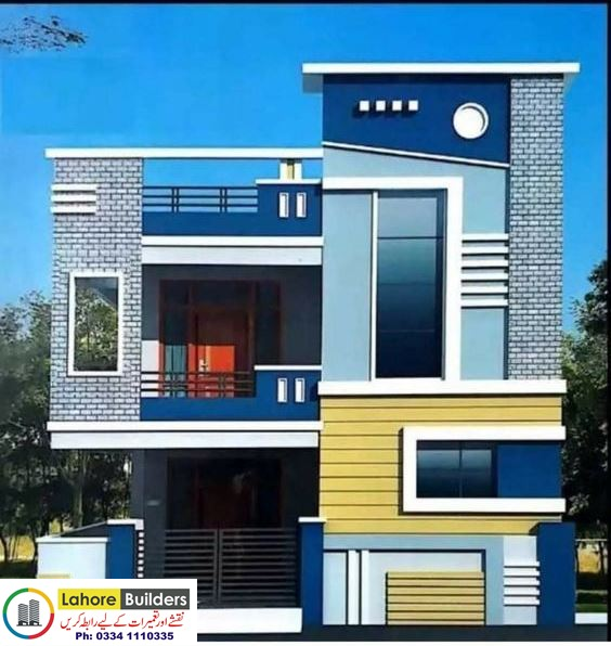 50 Best House Front Elevation Designs Exterior Ideas For 5 Marla Plot Size Online Small House Design Exterior Small House Front Design House Balcony Design