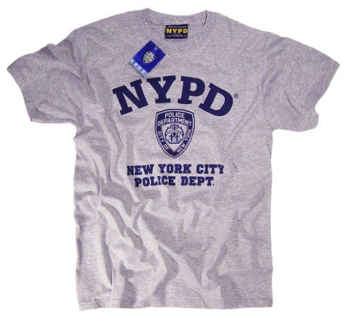 9e50856bd NYPD T-Shirt Authentic Clothing Apparel Officially Licensed Merchandise by  The New York City Police Department:Amazon.co.uk:Clothing