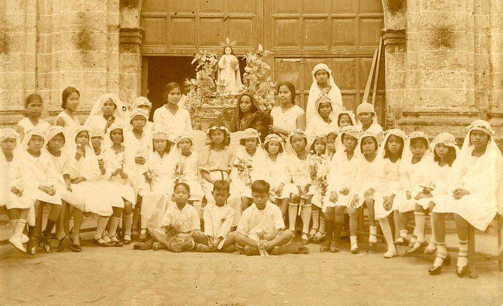 Filipino Catholicism First Communion in the Philippines
