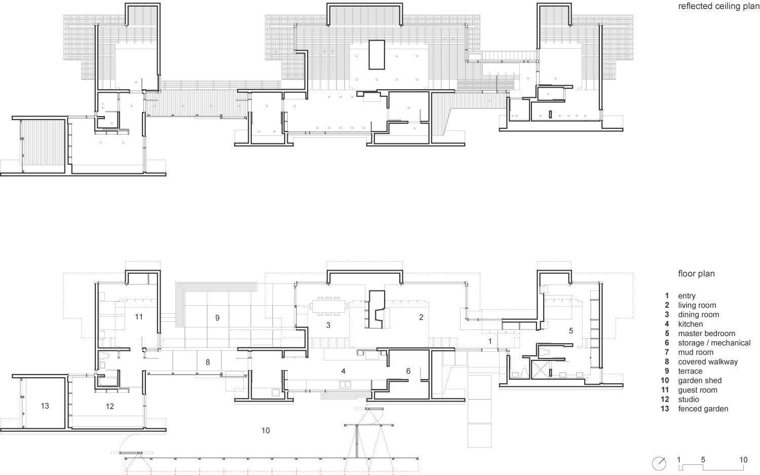 Agosta House By Patkau Architects Floor Plans Architect How To Plan