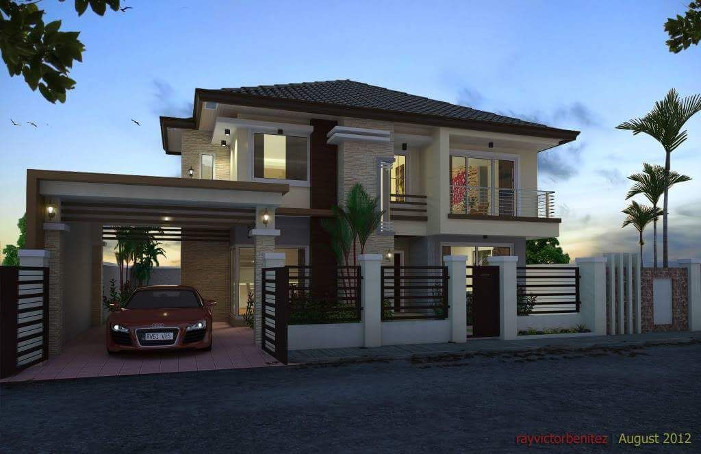50 Photos Of Simple But Elagant Two Story House Design Trending News Ofw Info S House Two Story House Design House Architecture Design House Design Trends