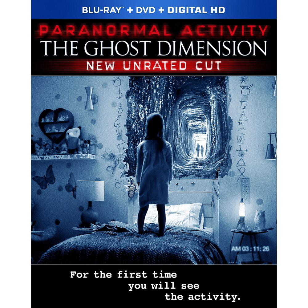 Paranormal Activity The Ghost Dimension Blu Ray In 2021 Paranormal Activity Paranormal Activity Movie Paranormal