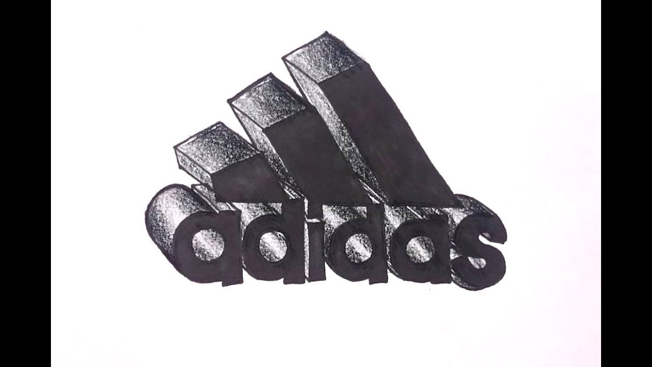 Creative media how to draw the adidas logo in 3d best on