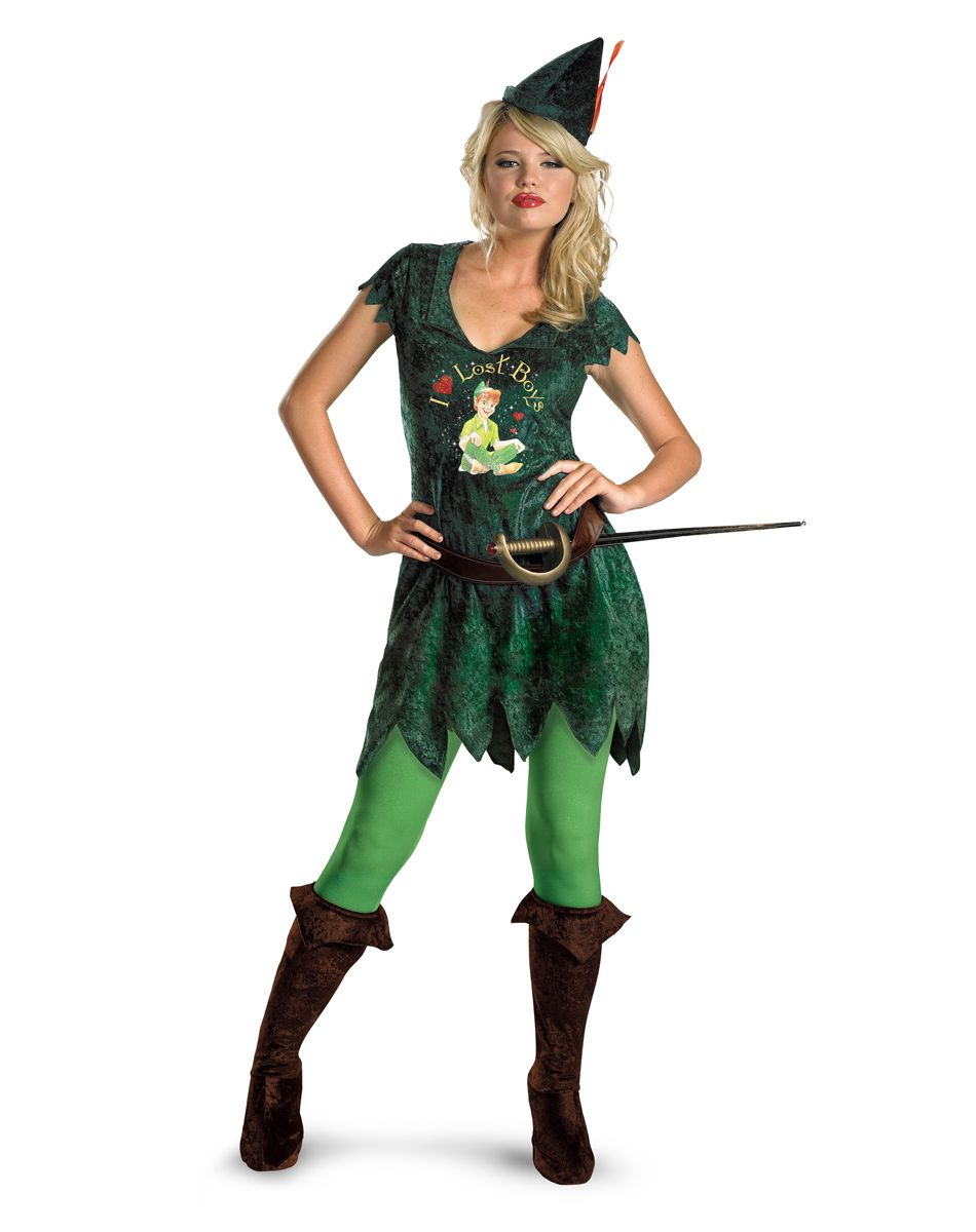 Halloween Costumes Halloween Decorations u0026 Accessories  sc 1 st  Pinterest & Peter Pan Adult Womens Costume u2013 Spirit Halloween | Costume Ideas ...