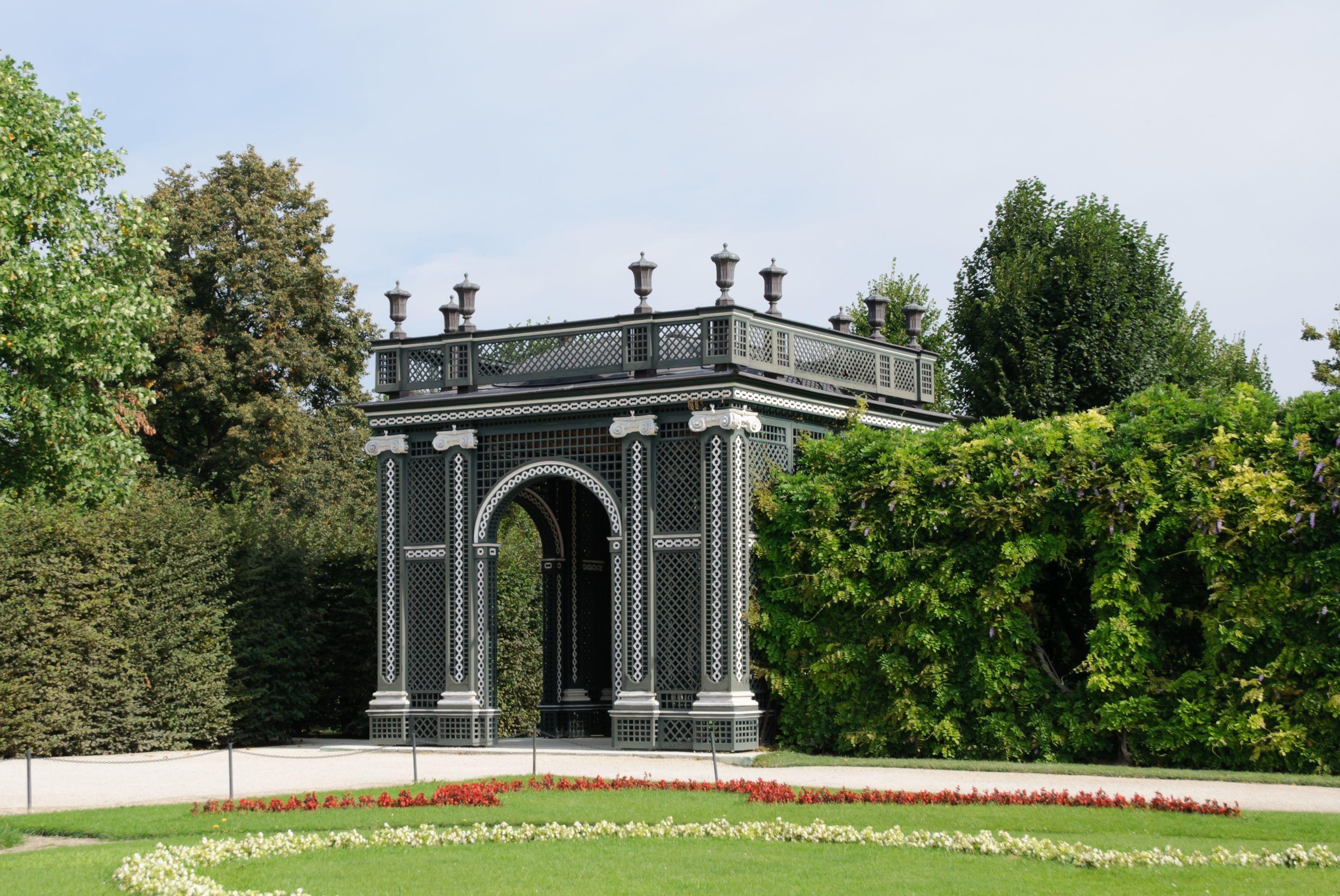 Kammergarten Pavilion Schonbrunn Wien Schonbrunn Schloss Schonbrunn Wien