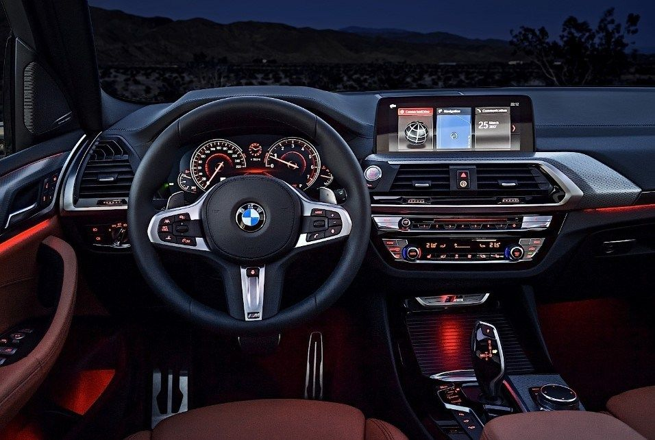 2020 Bmw X3 Dashboard